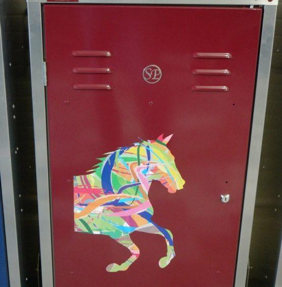 Hagstedt Pferdetransporter Sattelschrank